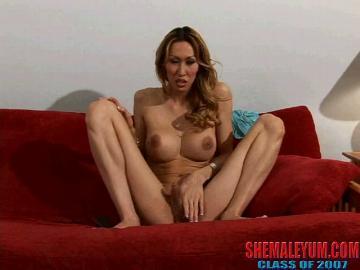 Naked tranny attentively